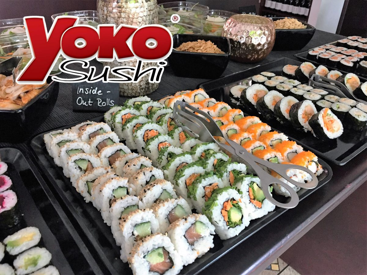 Sushi – All You Can Eat !